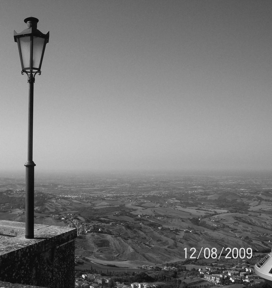 vue splendide de San Marino