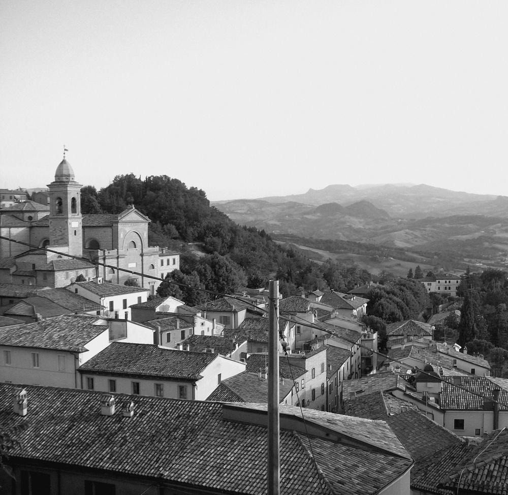 vue splendide d'italie