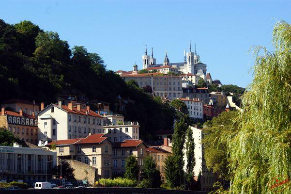 vue sur Notre Dame de Fourvière