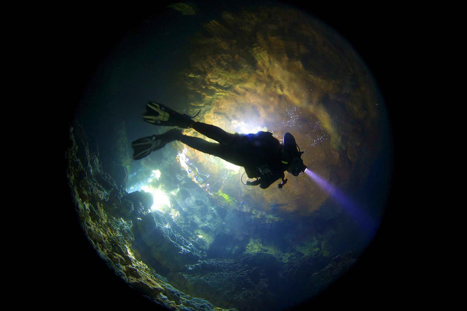 Vuelo bajo agua