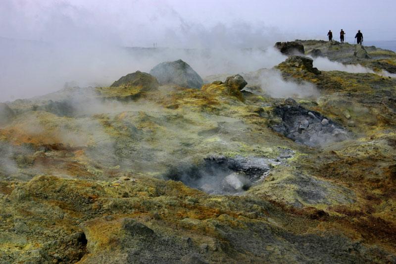 Vulcano, Liparische Inseln