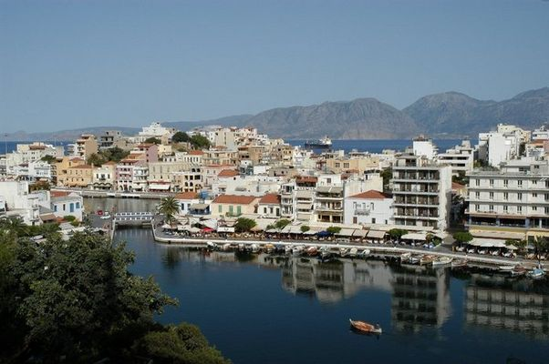 Vulismeni-See in Agios Nikolaos