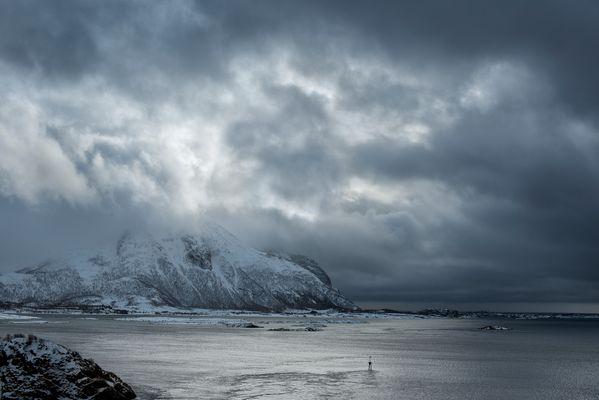 Vulkan auf den Lofoten