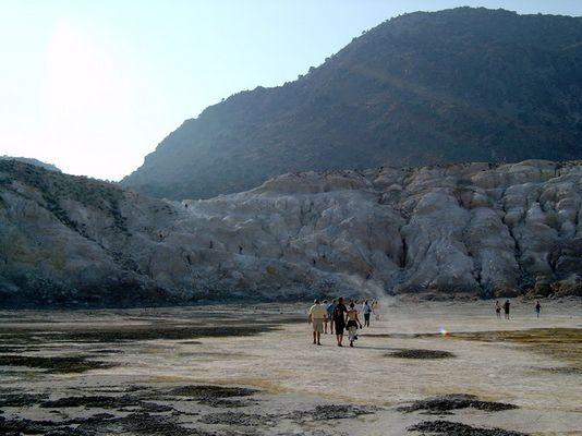 Vulkan auf Nissyros