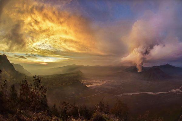 Vulkan Bromo 5.18 Uhr