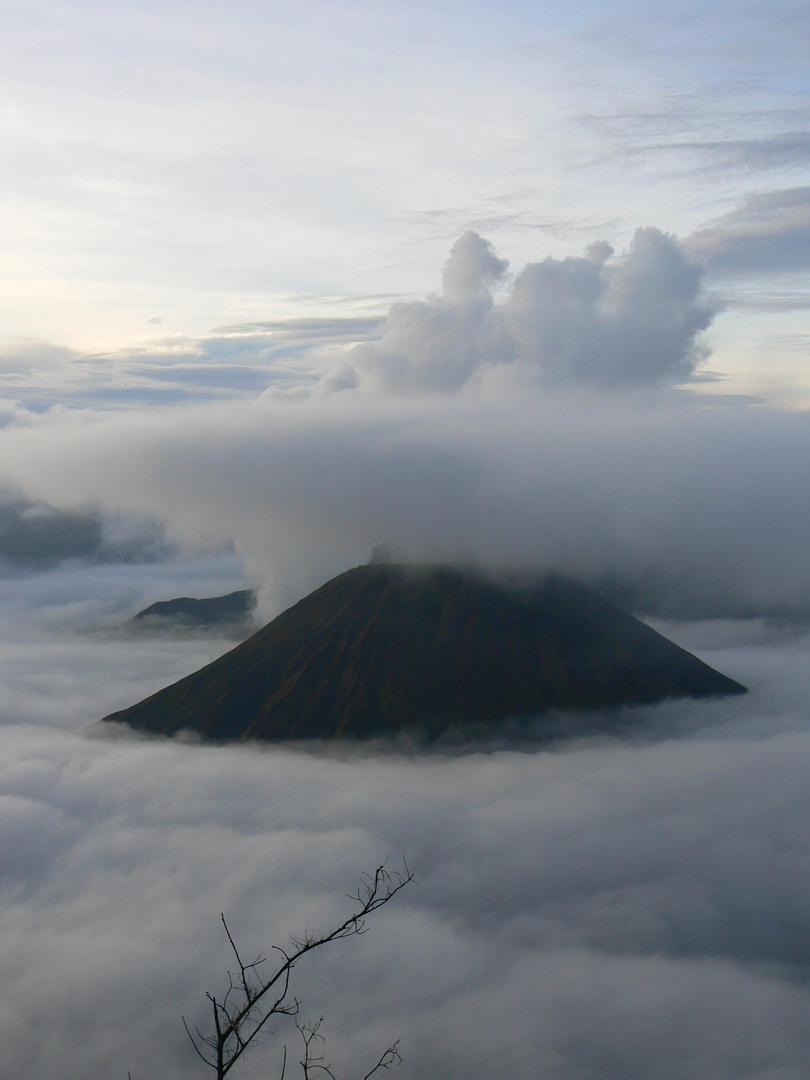 Vulkan Bromo auf Java
