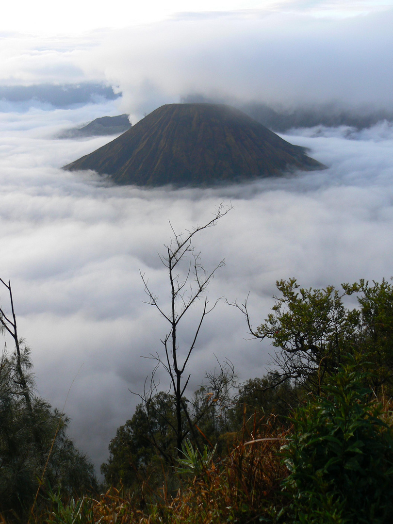 Vulkan Bromo auf Java (Indonesien)