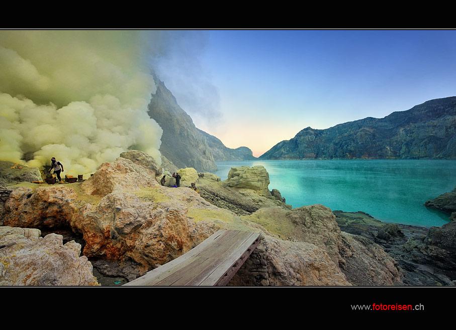 Vulkan Ijen