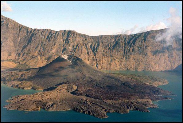 Vulkan im Vulkan