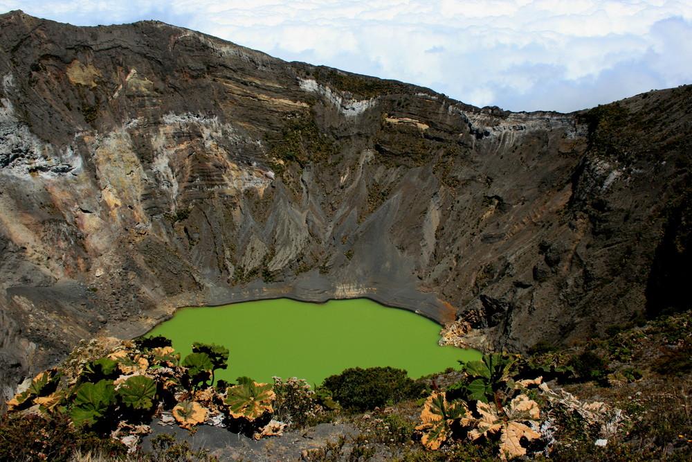 Vulkan Irazu in Costa Rica