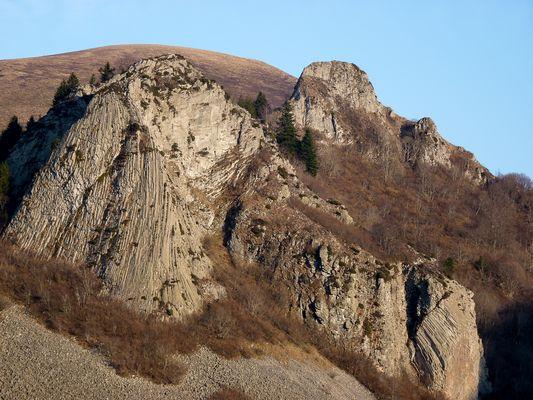 Vulkan-Kraterreste
