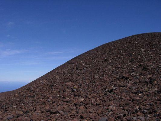 Vulkan-Kurve