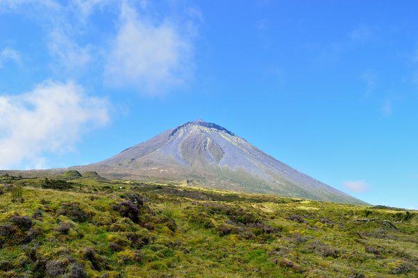 Vulkan Ponta do Pico / Azoren