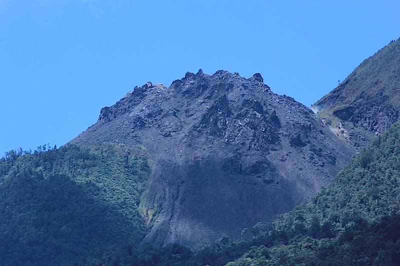 Vulkan spitze Anak Ranaka