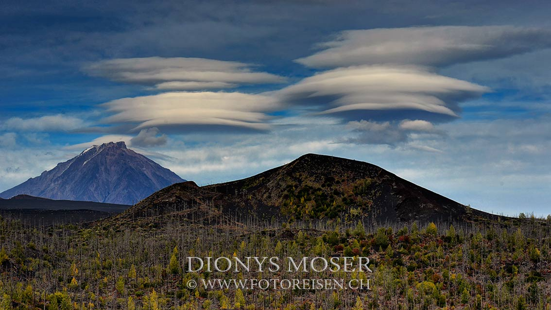 Vulkan Tolbatschik mit Lenticularis