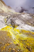 Vulkan White Island Neuseeland