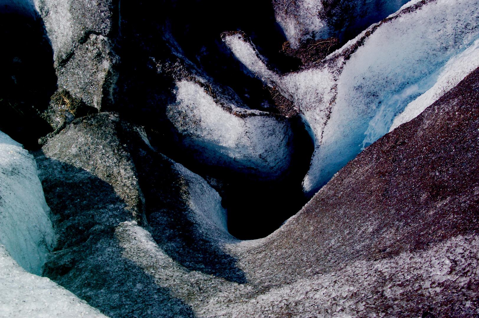 Vulkanausbruch - im Eis verewigt