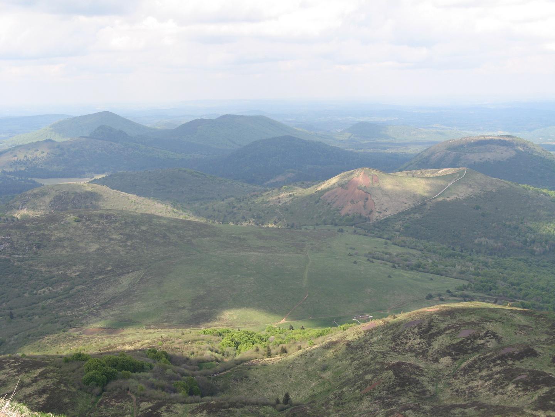 Vulkangebiet Nähe Clermont (fr)