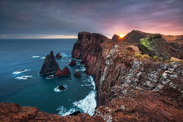 Vulkanisches Glühen (Ponta de São Lourenço / Madeira)