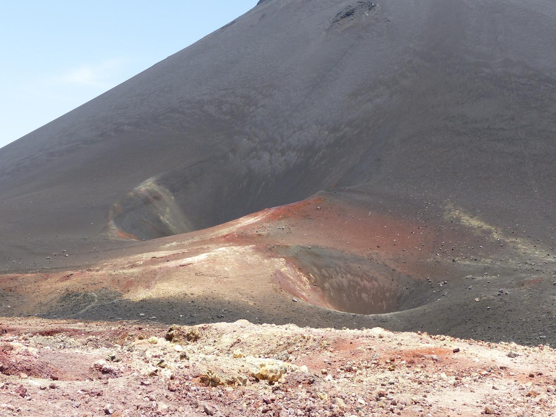 Vulkankrater am Pico de Fogo