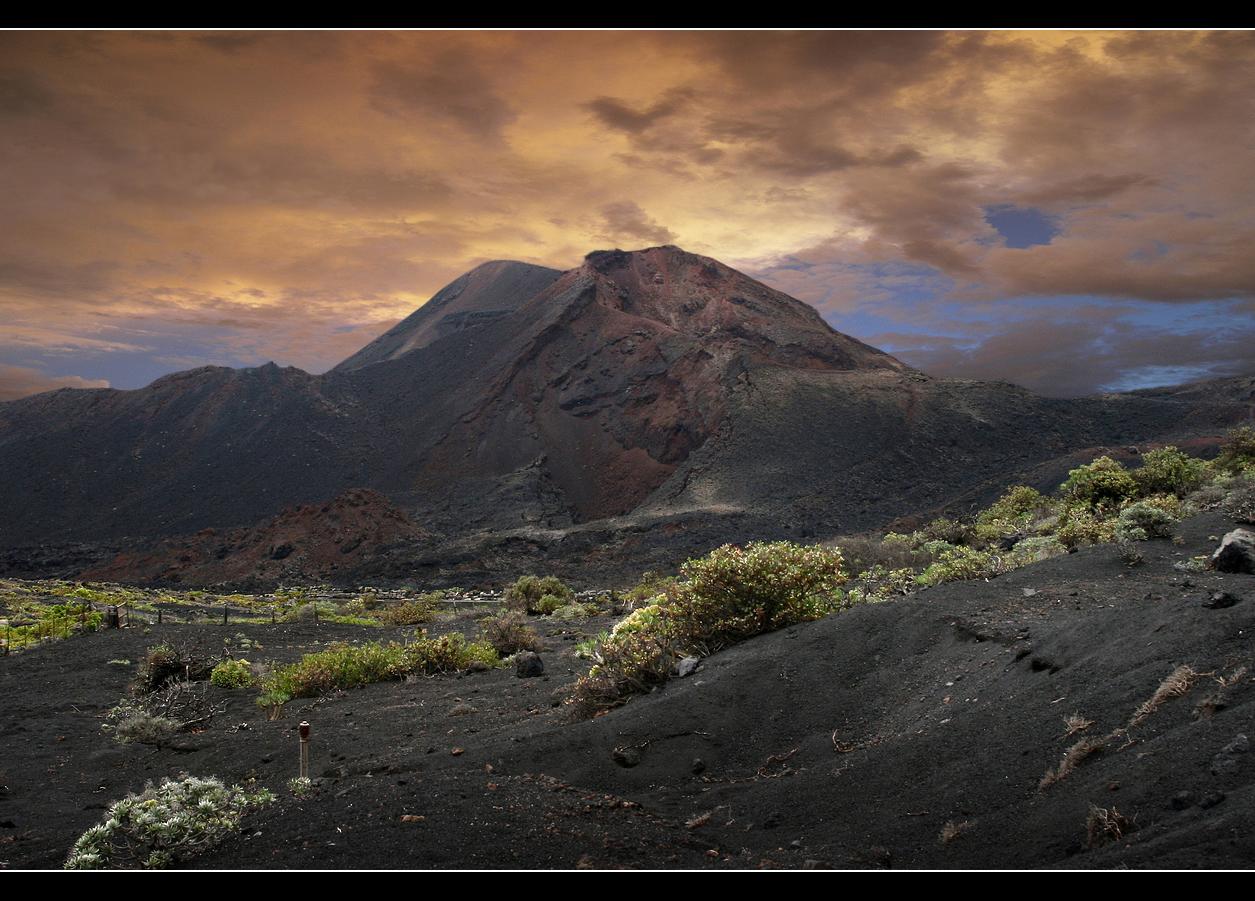 Vulkankrater bei Fuencaliente - La Palma 2