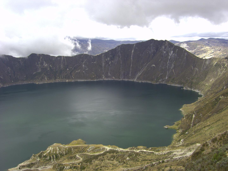 Vulkankrater bei Quito