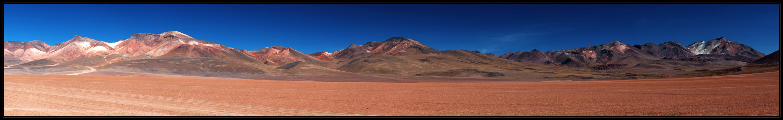 Vulkanlandschaft - Bolivien