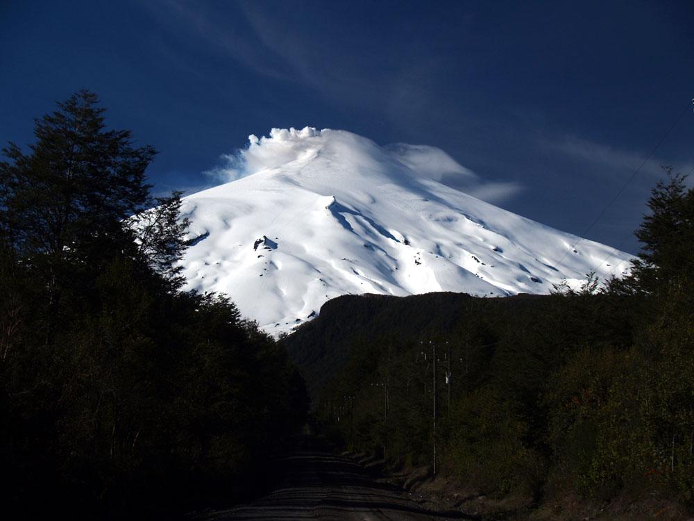 Vulkano Villarica