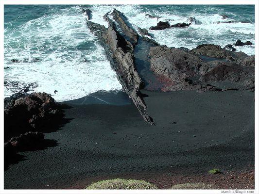 Vulkanstrand von Lanzarote