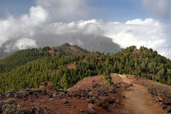 Vulkantour Richtung Refugio...