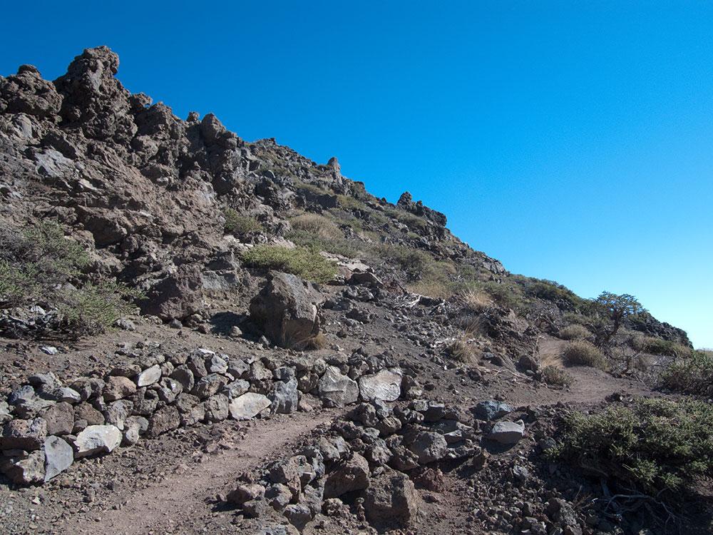 Vulkanwanderung auf der Kanareninsel La Palma