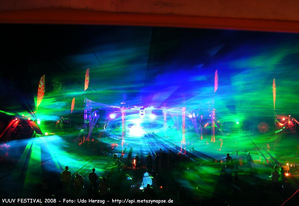 VUUV FESTIVAL 2008 - Laser