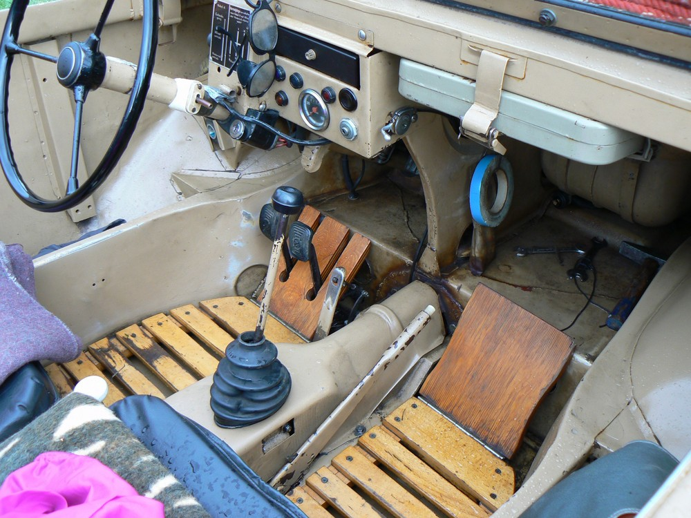 VW 160 Cockpit