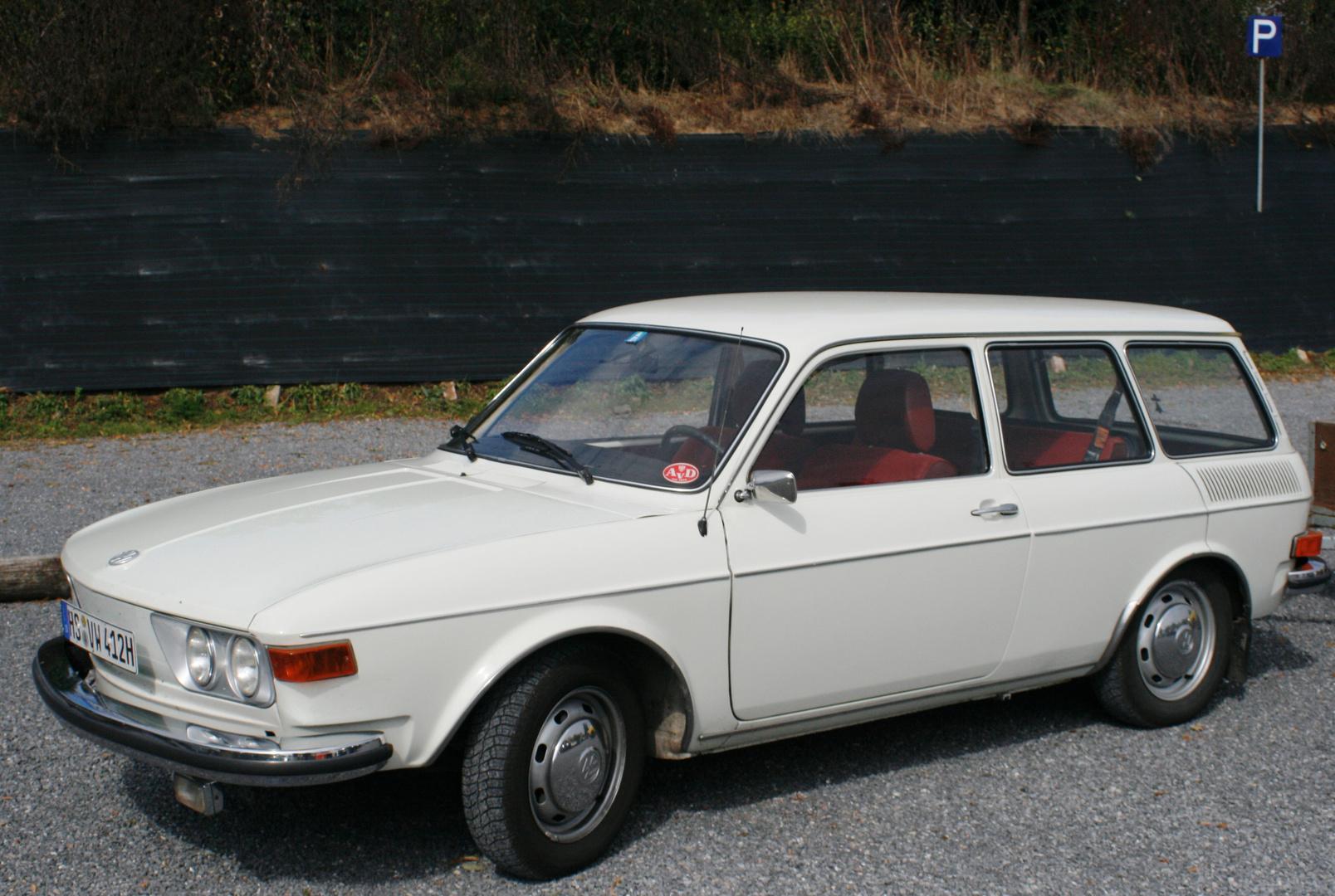 VW 412 LE Variant - Ein früher Vorgänger von meinem Auto !!