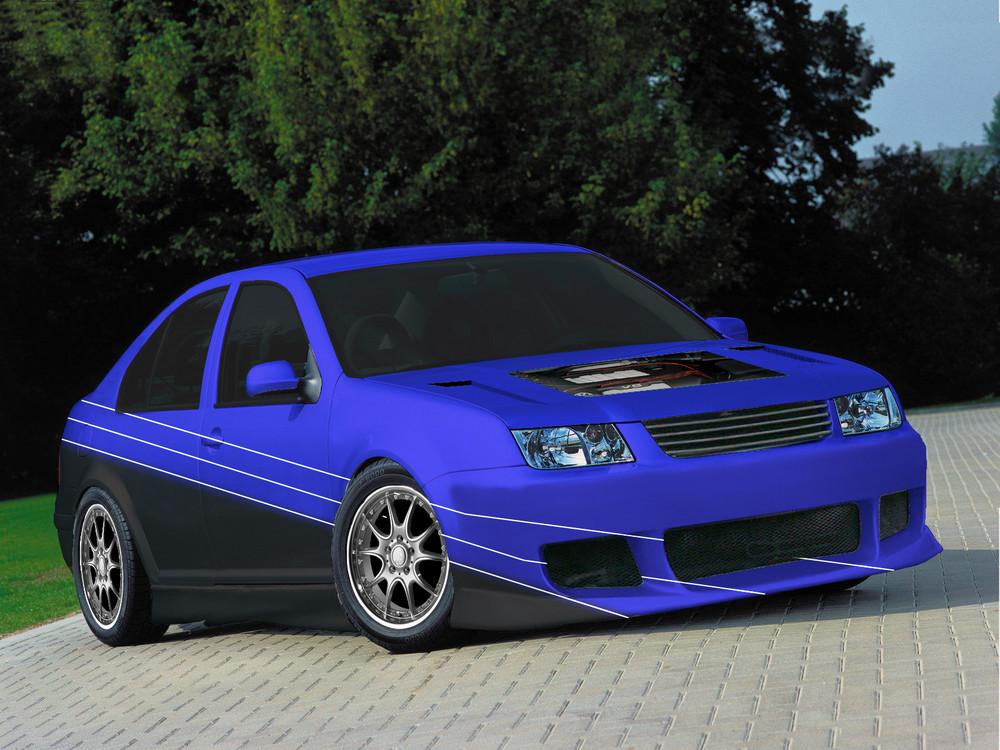 VW Bora mal anders