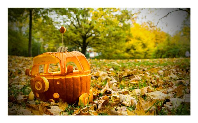 VW Bulli - Halloween