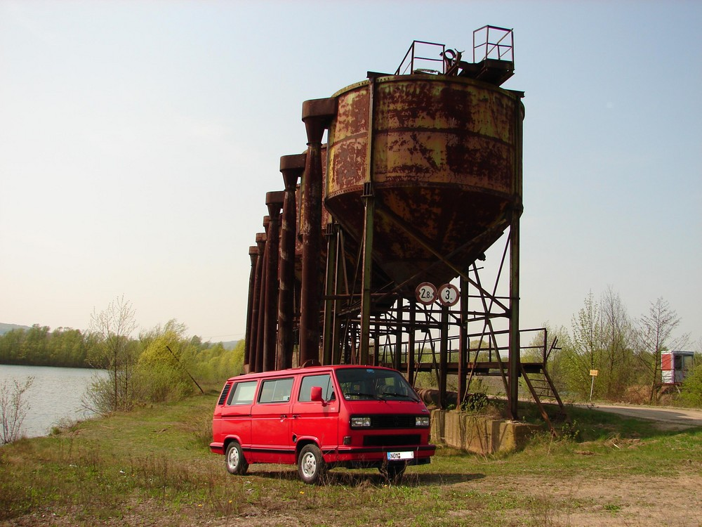 VW Bus T3 Limited Last Edition am Kiessee
