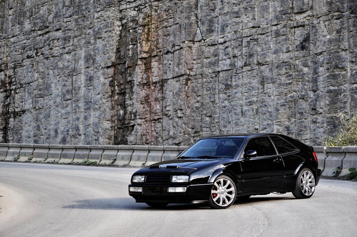 VW Corrado @ Steinbruch_3