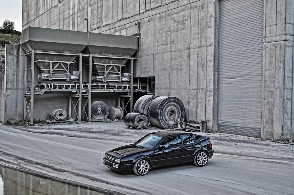 VW Corrado @ Steinbruch_6