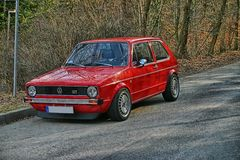 VW Golf GT HDR