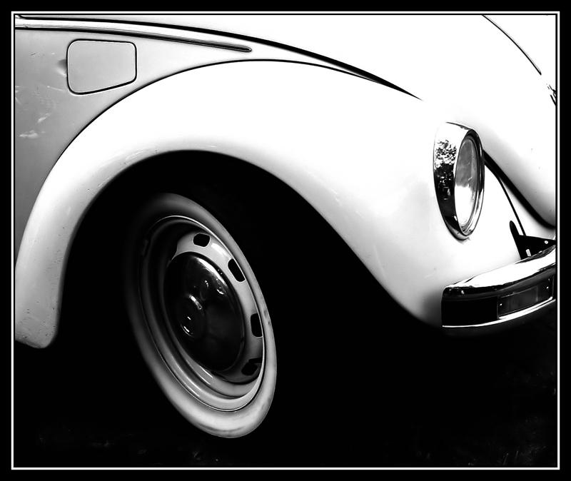 VW-Käfer - , ...alles schön rund hier...