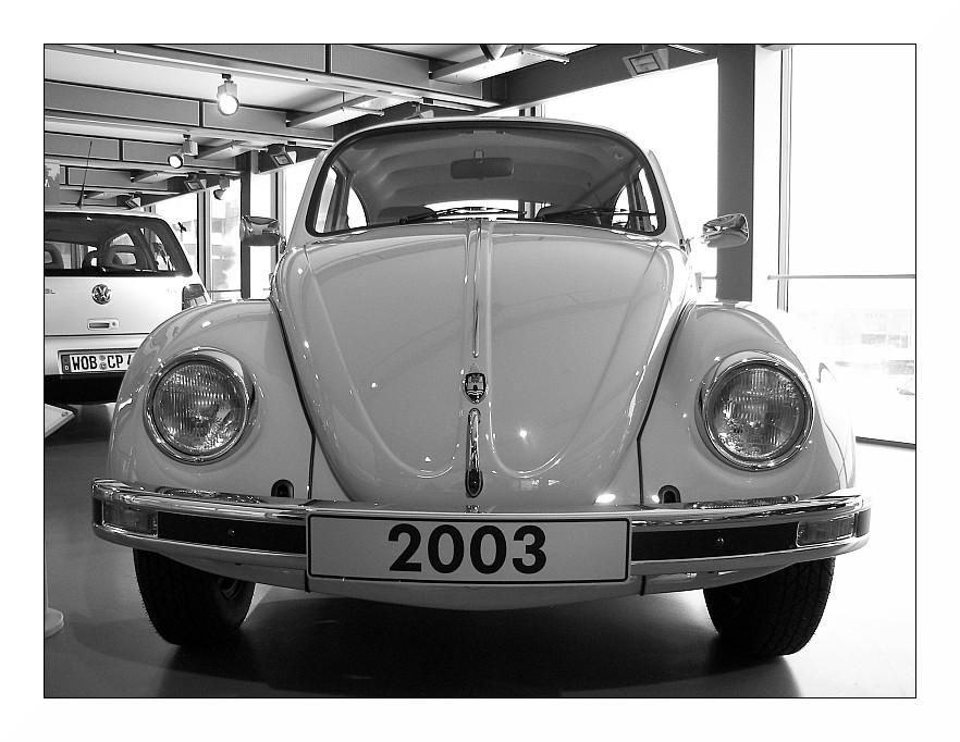 VW Käfer 2003 (der allerletzte)