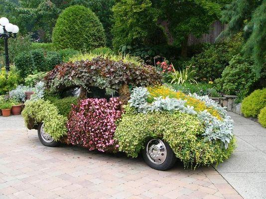 "VW-Käfer in ""grün"""