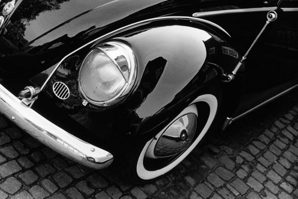 VW-Käfer/ Zweigeteilt