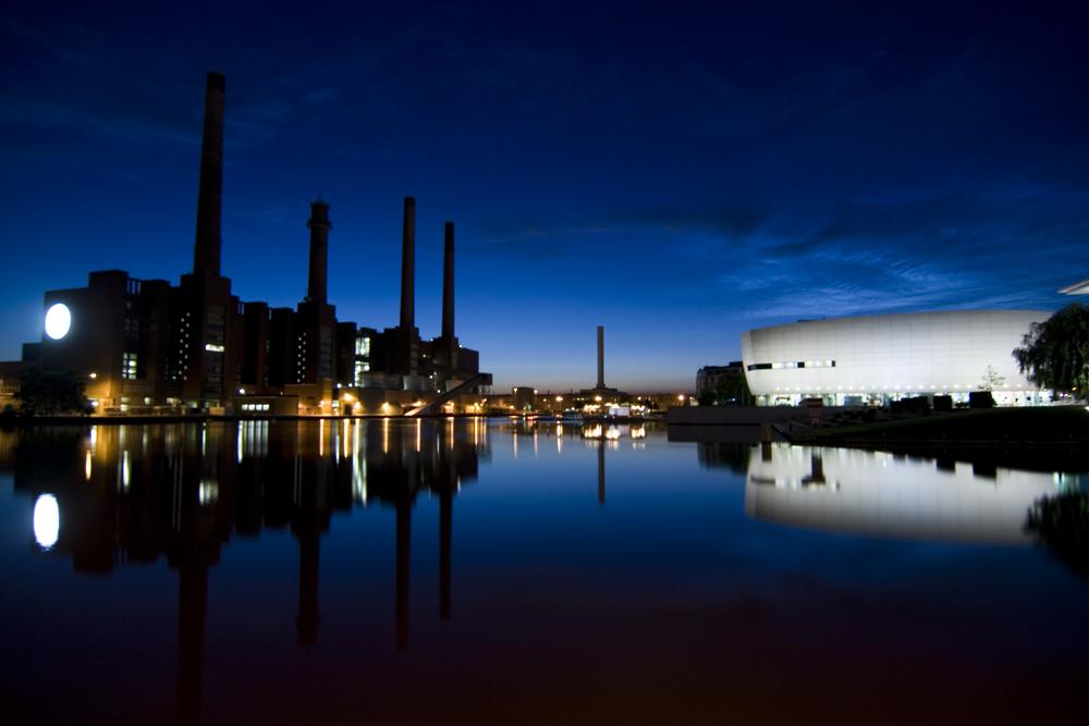 VW-Kraftwerk und die Autostadt