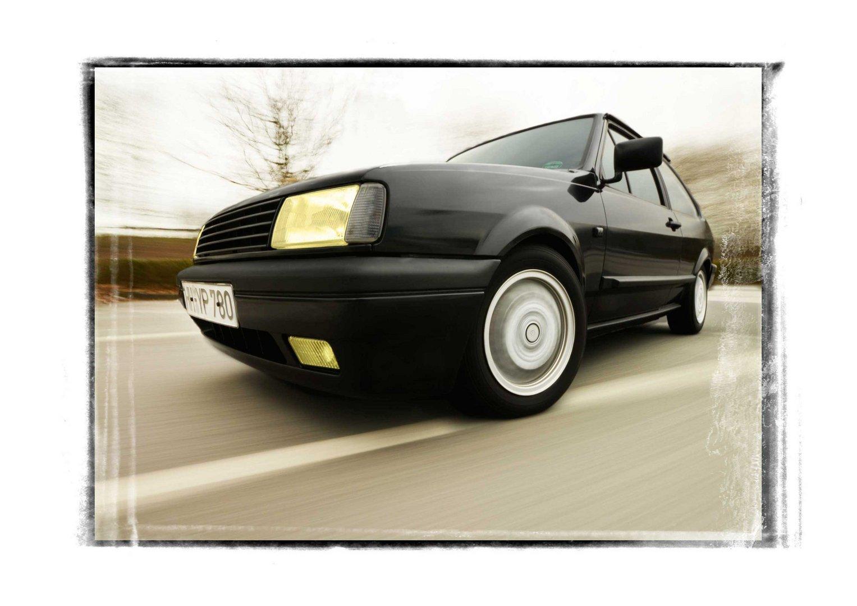 VW Polo 86 C - er rennt wieder....
