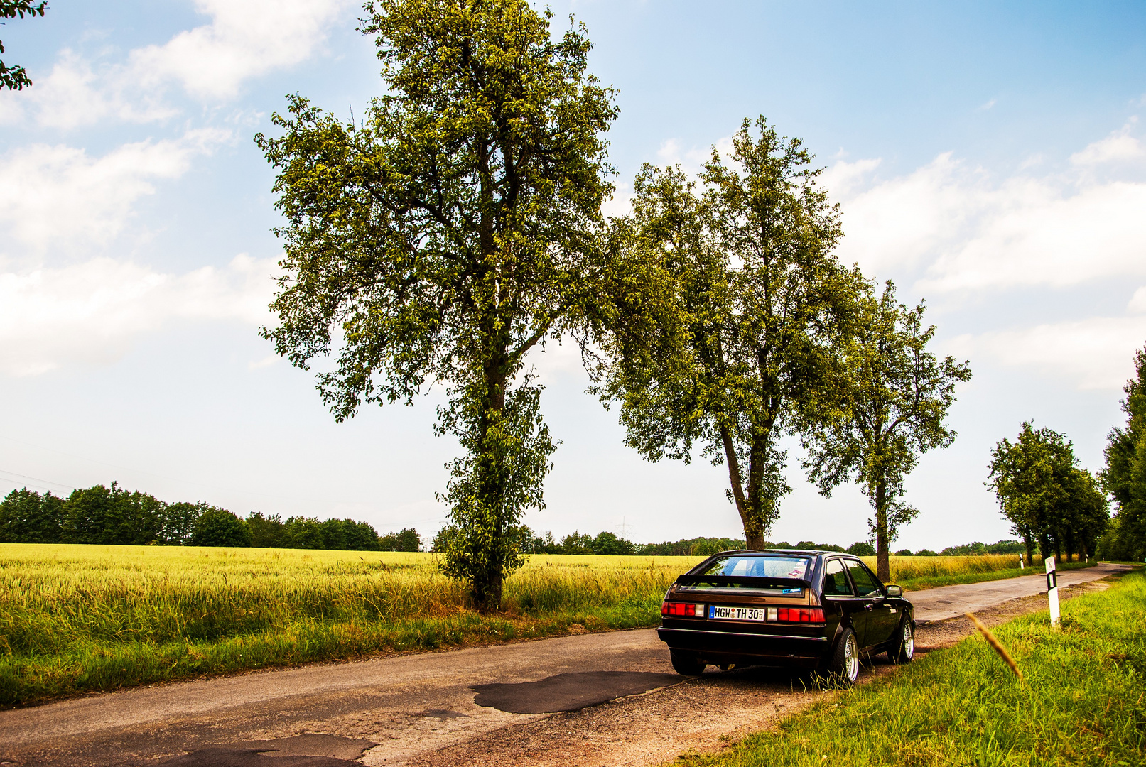 """VW Scirocco GT """"on the road"""""""