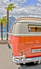 VW T1 Bus im HDR-Style