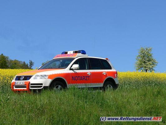 VW Touareg NEF (Notarzteinsatzfahrzeug)