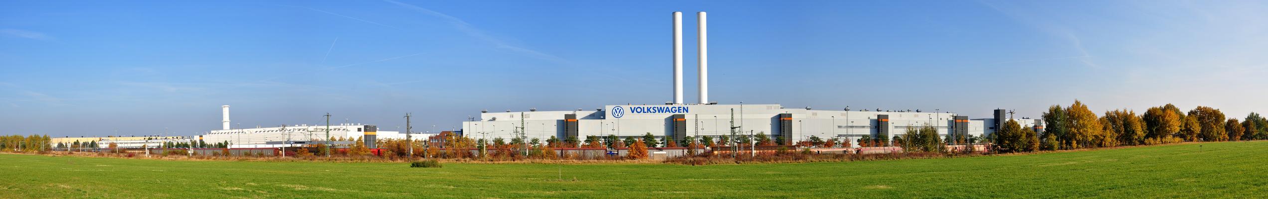 VW-Werk in Mosel/Zwickau/Sachsen.....